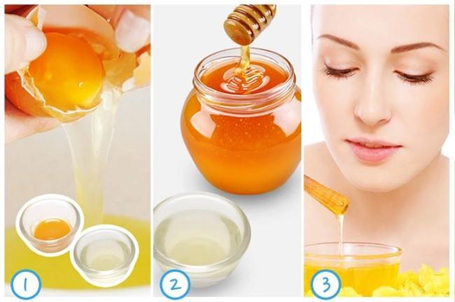 5 cách làm đẹp bằng mật ong và lòng đỏ trứng gà tại nhà