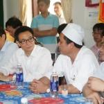 Phó Thủ tướng Vũ Đức Đam thăm, chúc mừng ngành y tế tỉnh Vĩnh Phúc