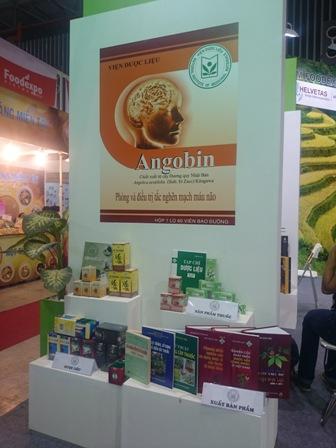 Viện Dược liệu tham gia Vietnam Foodexpo 2015