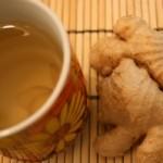 Bài thuốc trị đau bụng, tiêu chảy từ trà gạo gừng