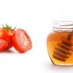 Cách chống nắng hiệu quả với mật ong và cà chua