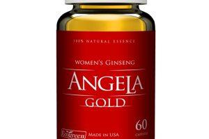 Tất cả thông tin về sâm angela gold
