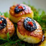 Cách làm món tỏi đen nướng sò điệp