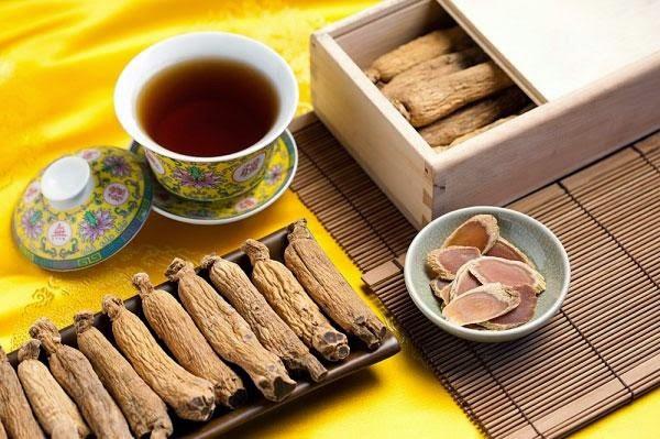 Sử dụng hiệu quả trà hồng sâm tại nhà