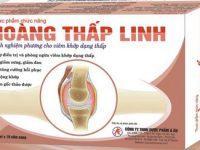 Hoàng Thấp Linh chữa đau khớp hiệu quả