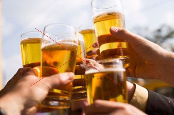 Đàn ông chuẩn bị làm bố nói không với rượu bia