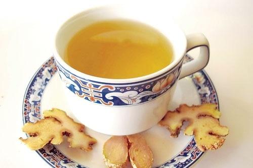 Giảm đau đầu bằng trà gừng