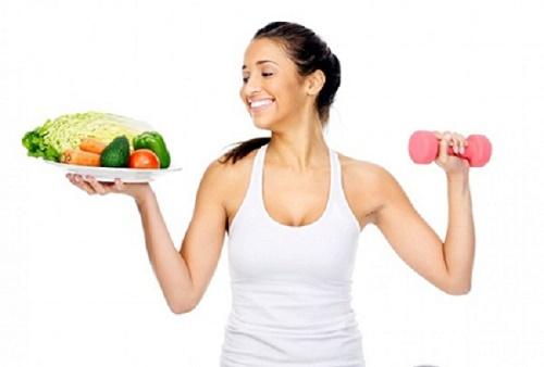 Kết hợp biện pháp ăn uống và chế độ tập luyện hợp lý