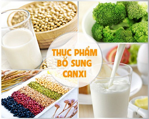 Thực phẩm bổ sung canxi tốt cho bệnh loãng xương