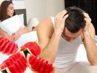 Biện pháp điều trị rối loạn cương dương bằng dưa hấu