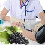 Tác dụng của nho đối với bệnh cao huyết áp