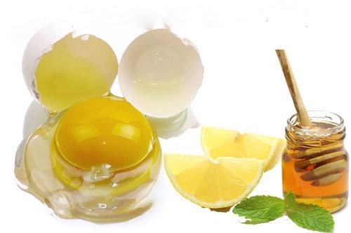 Làm đẹp da bằng trứng gà, mật ong và nước cốt chanh