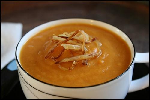 Giảm cân bằng súp khoai lang