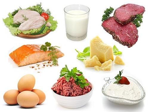 Thực phẩm cung cấp chất đạm