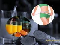 Uống tinh bột nghệ lấy lại vóc dáng cân đối