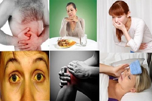 Dấu hiệu nhận biết bệnh gan yếu