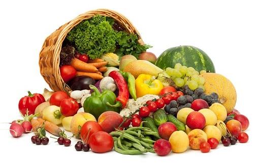 Cần ăn rau quả hàng ngày