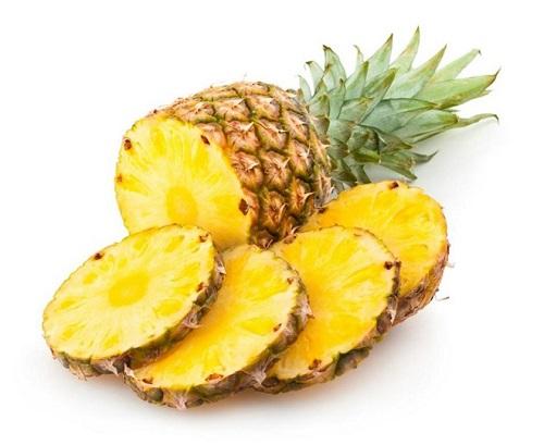 Dứa trái cây thực phẩm không nên ăn