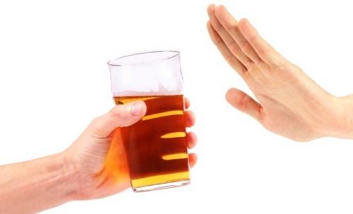 Hạn chế sử dụng rượu bia