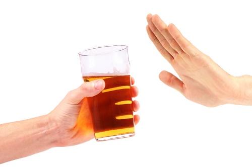 Không uống rượu bia