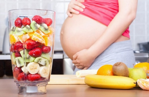 Nước uống dinh dưỡng cho bà bầu - Nước trái cây