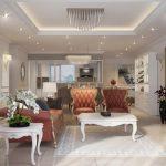 Phong cách thiết kế chung cư tân cổ điển sang trọng