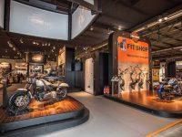Thiết kế cho showroom xe máy sẽ tạo nên nét đẹp ấn tượng, thu hút được sự chú ý của khách tham quan.