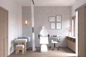 Thiết kế không gian clinic spa cũng có những điểm khác biệt rất lớn với spa thông thường.