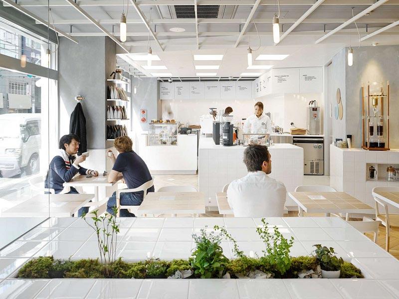 quán cafe phong cách Minimalism