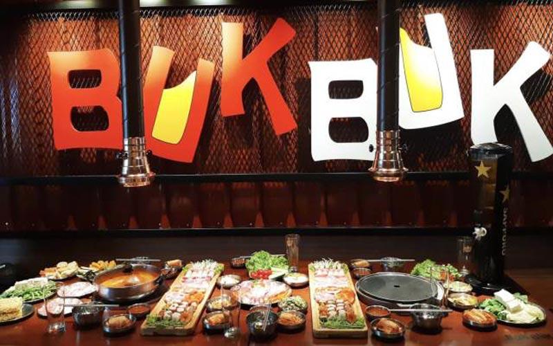 nhà hàng lẩu nướng Buk Buk