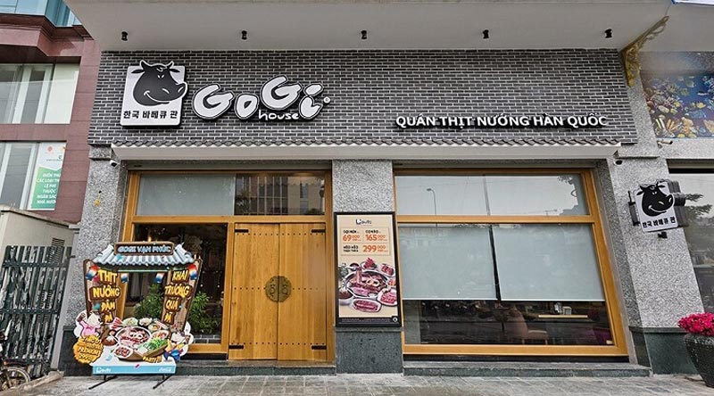 GoGi House - Nướng không khói Hàn Quốc