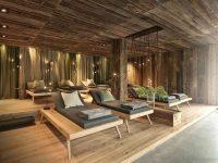 Chất liệu sử dụng nội thất trong phong cách hiện đại cũng không hề gò bó như là gỗ.