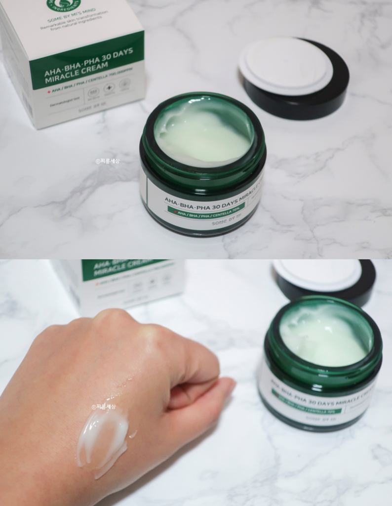 Chất kem gel mỏng, dễ tán và thẩm thấu vào da